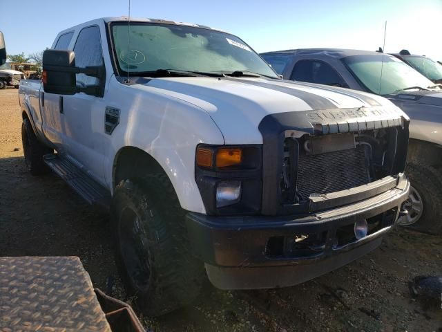 Salvage cars for sale from Copart San Antonio, TX: 2008 Ford F250 Super