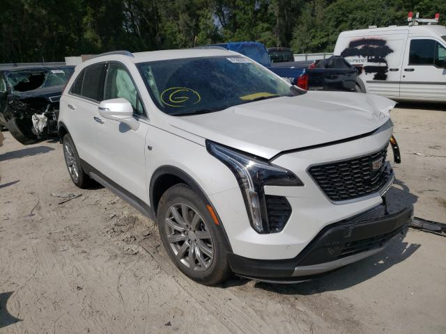 Salvage cars for sale from Copart Ocala, FL: 2021 Cadillac XT4 Premium