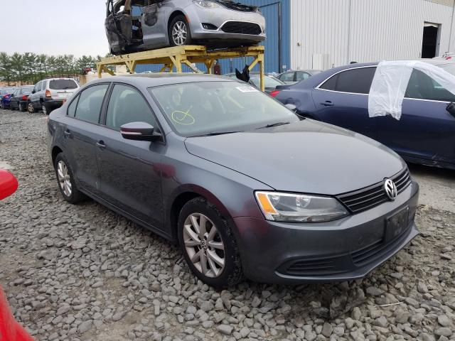 Salvage cars for sale from Copart Windsor, NJ: 2011 Volkswagen Jetta SE