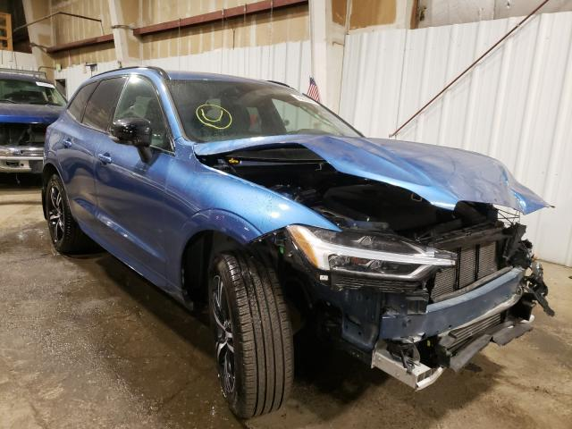 Salvage cars for sale from Copart Anchorage, AK: 2020 Volvo XC60 T6 R