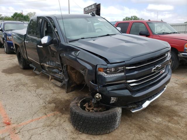 Salvage cars for sale from Copart Wichita, KS: 2017 Chevrolet Silverado