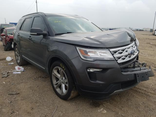 Salvage cars for sale from Copart Houston, TX: 2019 Ford Explorer X