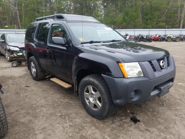 Salvage cars for sale from Copart Lyman, ME: 2008 Nissan Xterra OFF