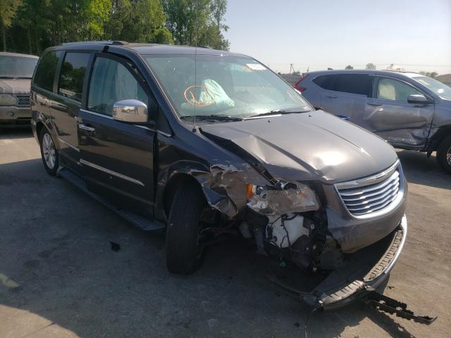 Salvage cars for sale from Copart Dunn, NC: 2016 Chrysler Town & Country