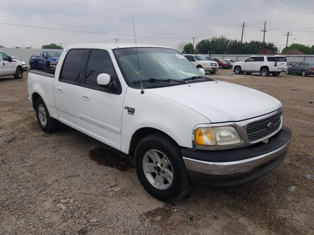 Salvage cars for sale from Copart Mercedes, TX: 2002 Ford F150 Super