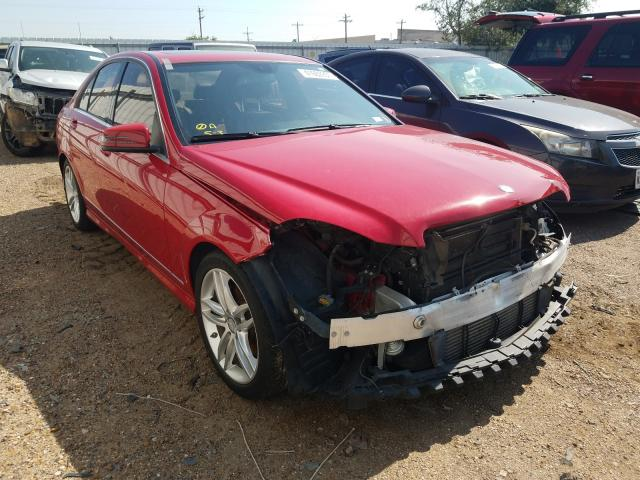 Salvage cars for sale from Copart Mercedes, TX: 2013 Mercedes-Benz C 250