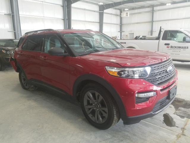 Salvage cars for sale from Copart Greenwood, NE: 2021 Ford Explorer X