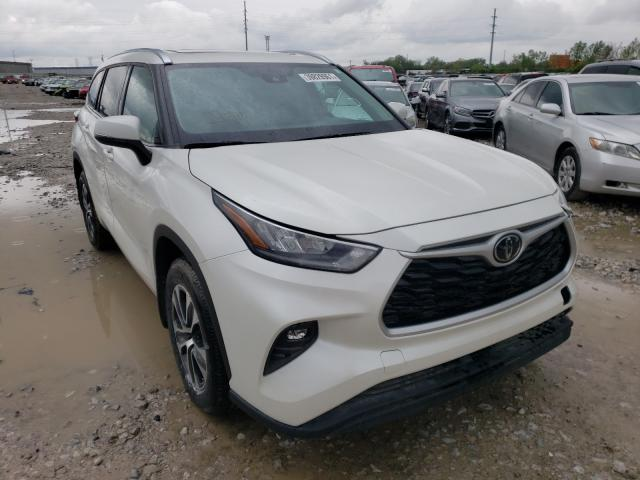 Salvage cars for sale from Copart Columbus, OH: 2020 Toyota Highlander