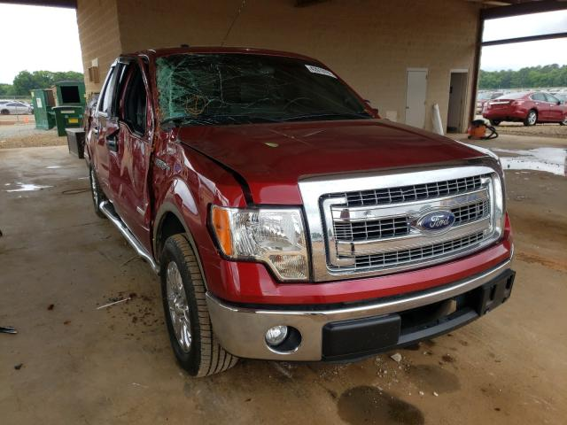 Salvage cars for sale from Copart Tanner, AL: 2013 Ford F150 Super