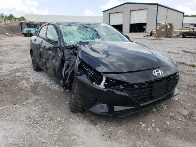 Salvage cars for sale from Copart Hueytown, AL: 2021 Hyundai Elantra SE