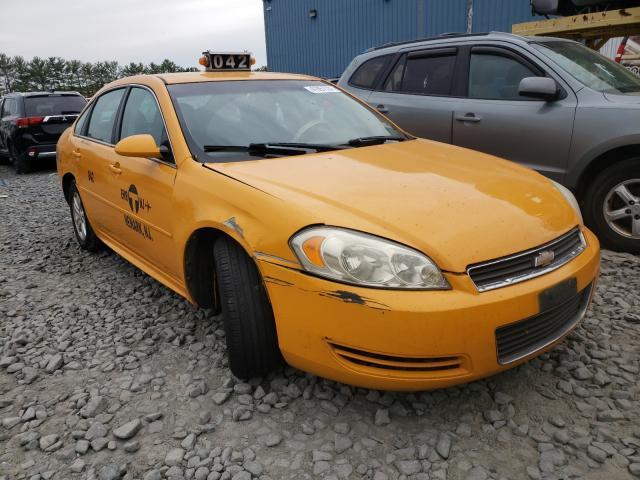 Salvage cars for sale from Copart Windsor, NJ: 2013 Chevrolet Impala LS