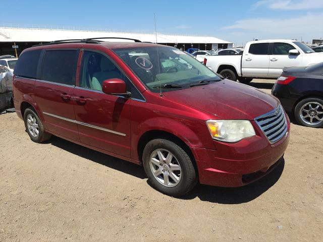 Salvage cars for sale from Copart Phoenix, AZ: 2010 Chrysler Town & Country