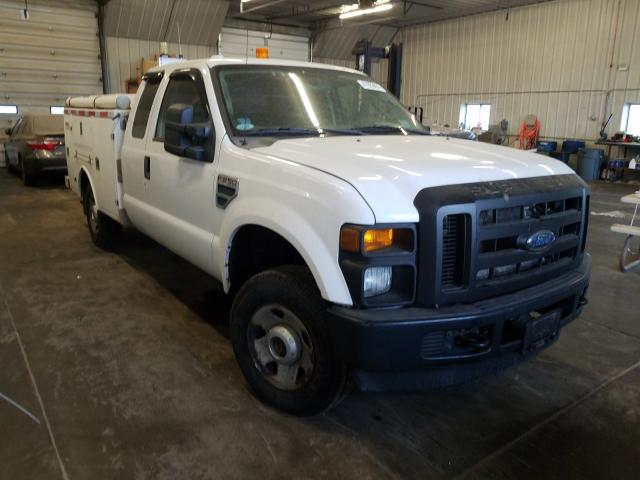 Salvage cars for sale from Copart Madison, WI: 2009 Ford F250 Super