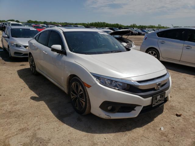 Salvage cars for sale from Copart Temple, TX: 2017 Honda Civic EXL
