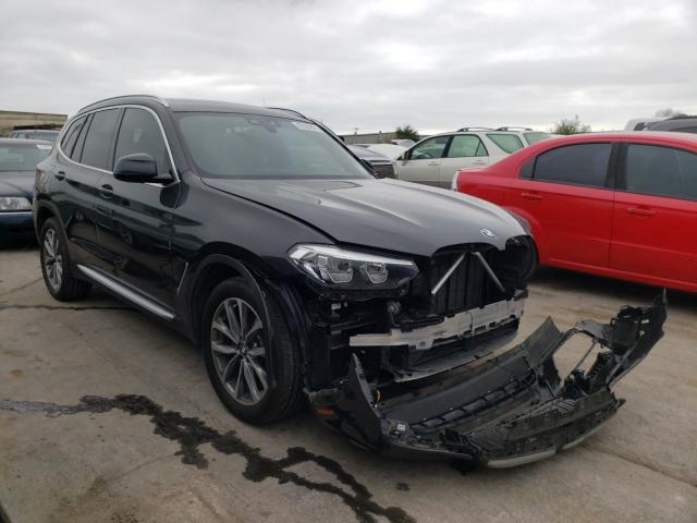 Salvage cars for sale at Tulsa, OK auction: 2019 BMW X3 SDRIVE3