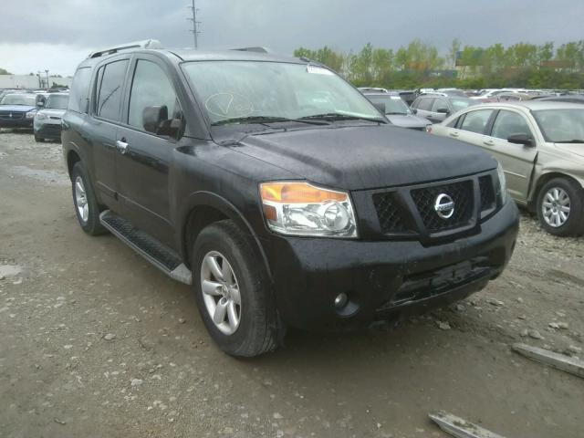 Salvage cars for sale from Copart Columbus, OH: 2015 Nissan Armada SV