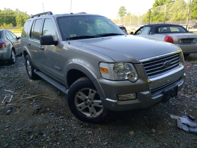 Salvage cars for sale from Copart Waldorf, MD: 2008 Ford Explorer X