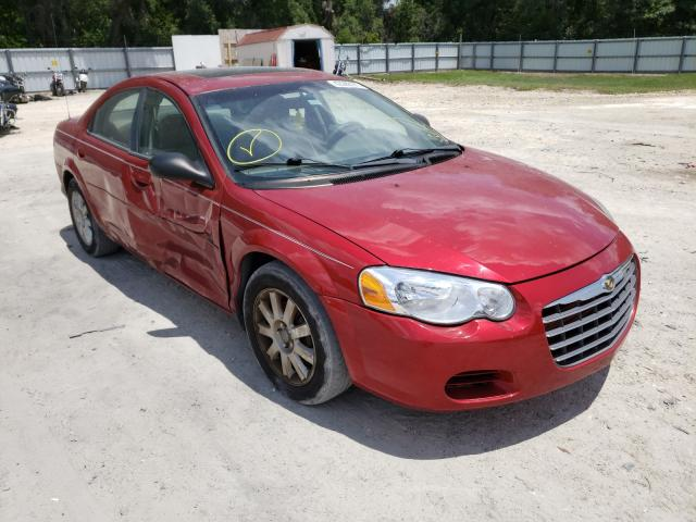 Salvage cars for sale from Copart Ocala, FL: 2004 Chrysler Sebring LX