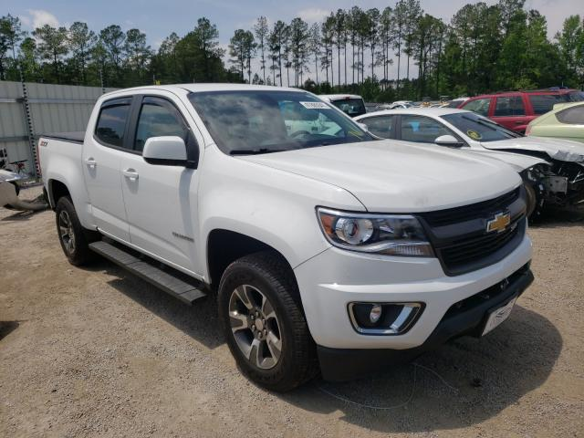 Salvage cars for sale from Copart Harleyville, SC: 2017 Chevrolet Colorado Z