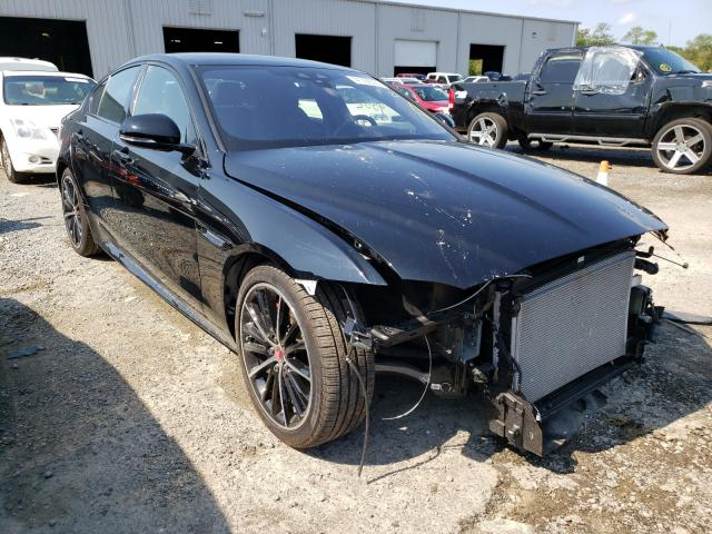 Salvage cars for sale from Copart Jacksonville, FL: 2019 Jaguar XE S
