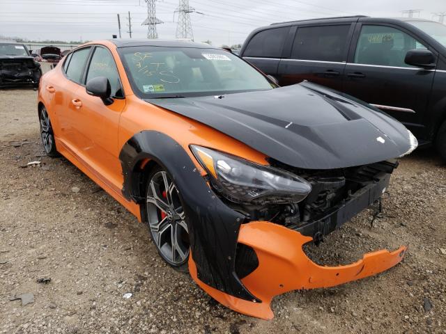 2019 KIA Stinger GT en venta en Elgin, IL