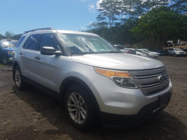 Salvage cars for sale from Copart Kapolei, HI: 2015 Ford Explorer