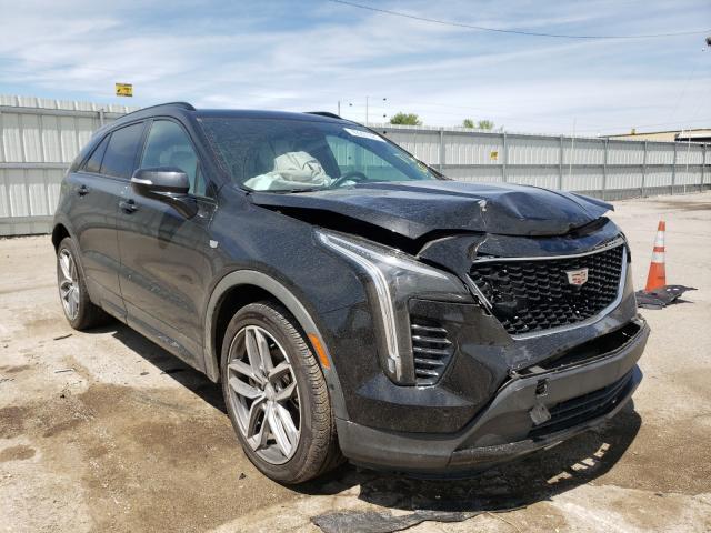 Salvage cars for sale from Copart Lexington, KY: 2019 Cadillac XT4 Sport
