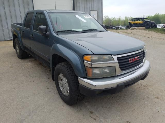 Salvage cars for sale from Copart Madison, WI: 2006 GMC Canyon