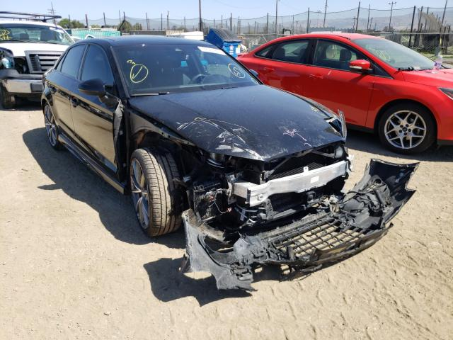 Salvage cars for sale from Copart San Martin, CA: 2016 Audi S3 Prestige