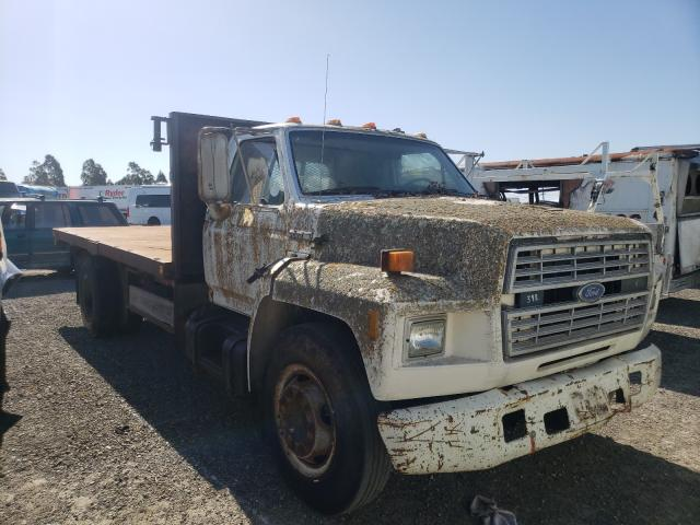 Ford F700 Vehiculos salvage en venta: 1986 Ford F700