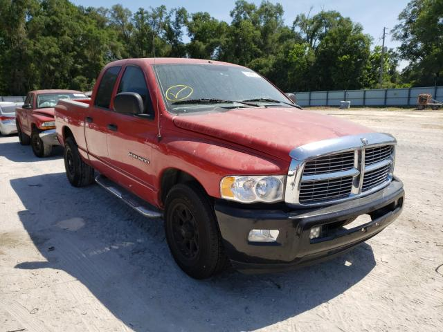 Salvage cars for sale from Copart Ocala, FL: 2003 Dodge RAM 1500 S