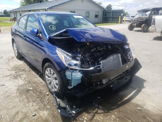 Salvage cars for sale from Copart Sikeston, MO: 2021 Hyundai Accent SE