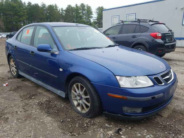 Salvage cars for sale from Copart Lyman, ME: 2003 Saab 9-3 Linear