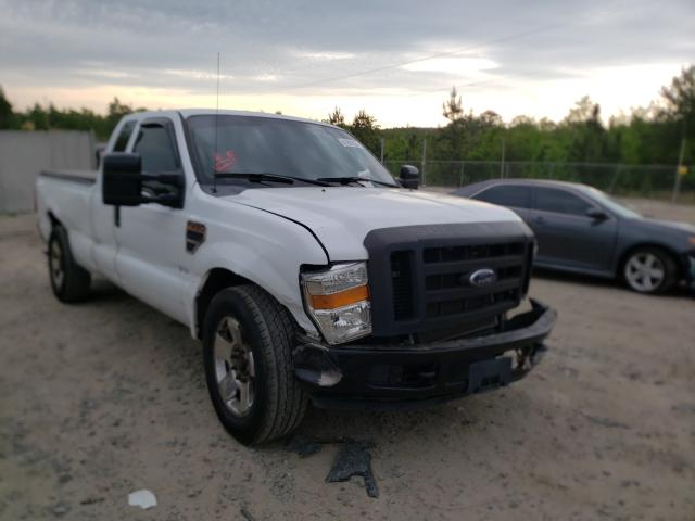 Ford salvage cars for sale: 2008 Ford F250 Super