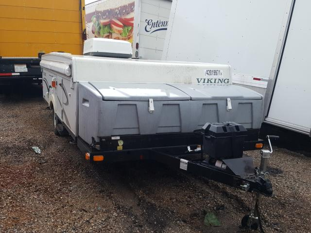 Viking salvage cars for sale: 2008 Viking Trailer