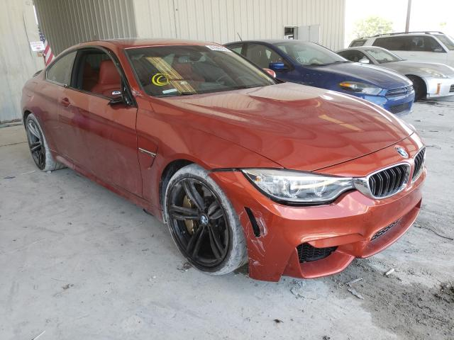 Salvage cars for sale from Copart Homestead, FL: 2015 BMW M4