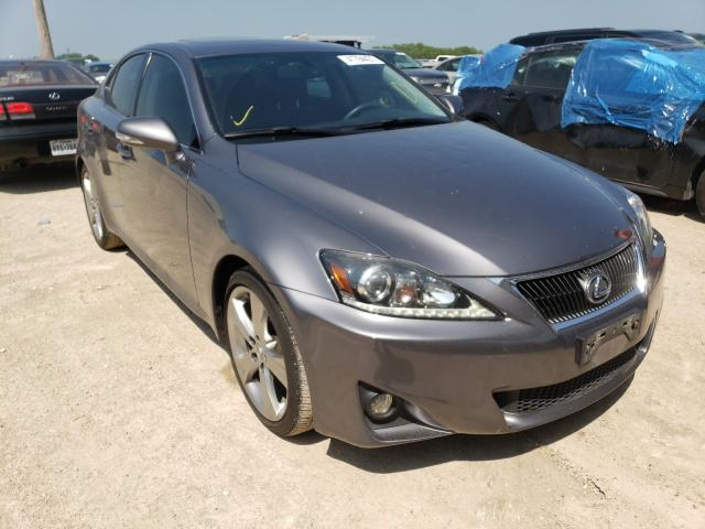 Salvage cars for sale from Copart Temple, TX: 2013 Lexus IS 250
