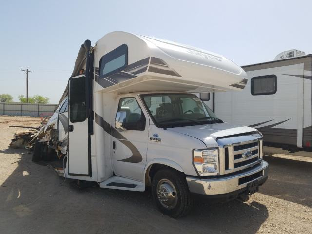 Salvage cars for sale from Copart Abilene, TX: 2020 Ford Econo RV C