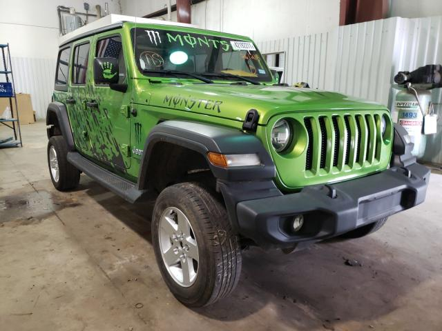 Salvage cars for sale from Copart Lufkin, TX: 2018 Jeep Wrangler U