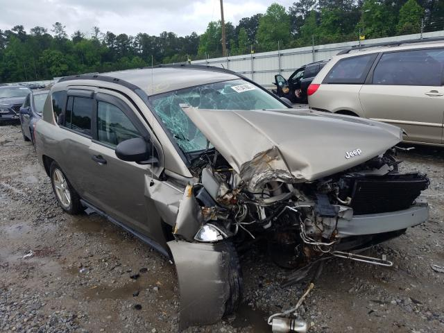 Salvage cars for sale from Copart Ellenwood, GA: 2007 Jeep Compass