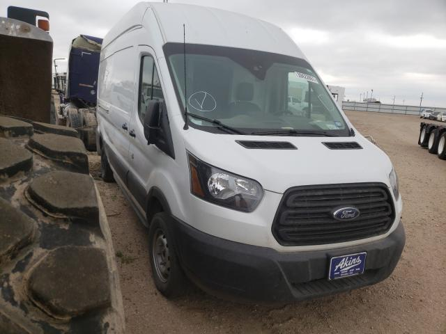 Salvage cars for sale from Copart Amarillo, TX: 2019 Ford Transit T