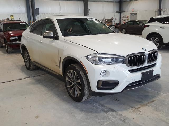 Salvage cars for sale from Copart Greenwood, NE: 2015 BMW X6 XDRIVE3