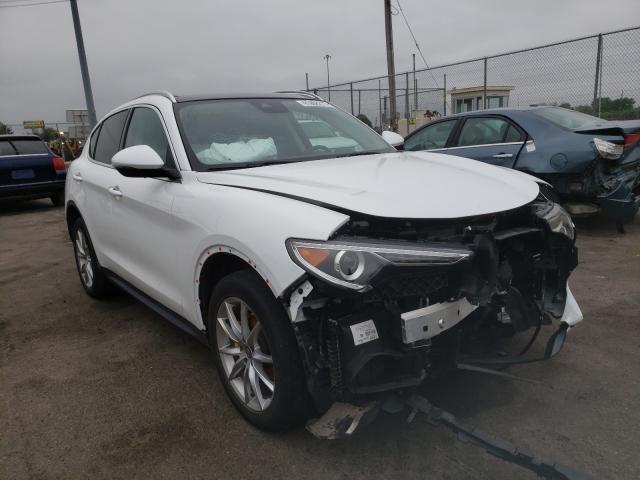 Salvage cars for sale at Moraine, OH auction: 2018 Alfa Romeo Stelvio TI