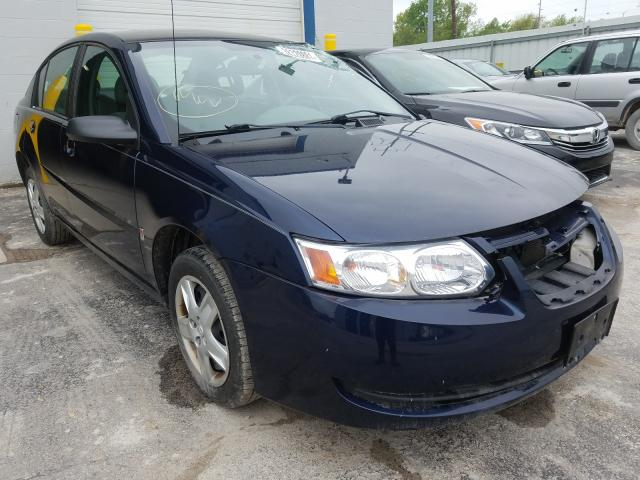 Vehiculos salvage en venta de Copart Columbus, OH: 2007 Saturn Ion Level