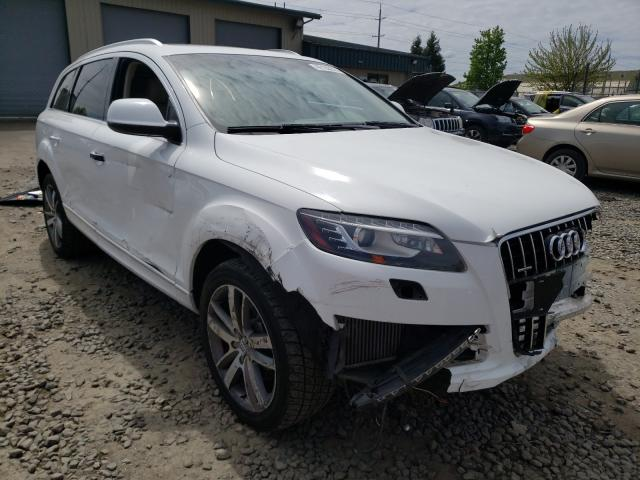 Salvage cars for sale from Copart Eugene, OR: 2010 Audi Q7 Prestige