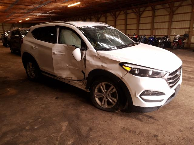 Salvage cars for sale from Copart London, ON: 2016 Hyundai Tucson Limited
