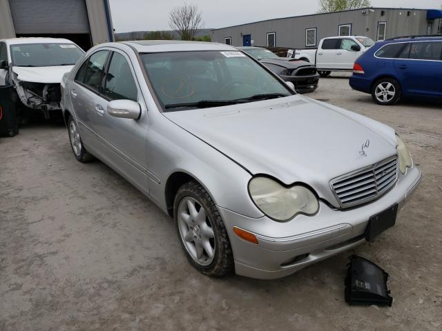Salvage cars for sale from Copart Duryea, PA: 2004 Mercedes-Benz C 320 4matic