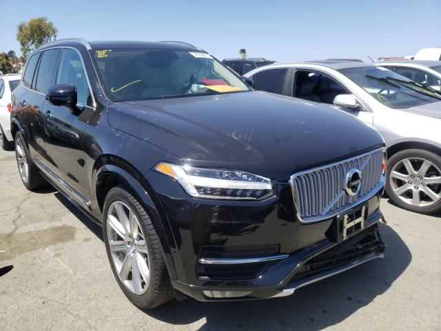 Salvage cars for sale from Copart Martinez, CA: 2019 Volvo XC90 T6 IN