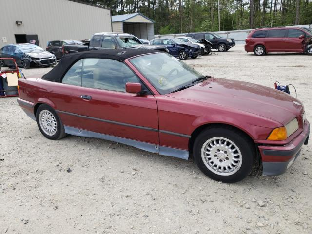 Salvage cars for sale from Copart Seaford, DE: 1994 BMW 325 IC