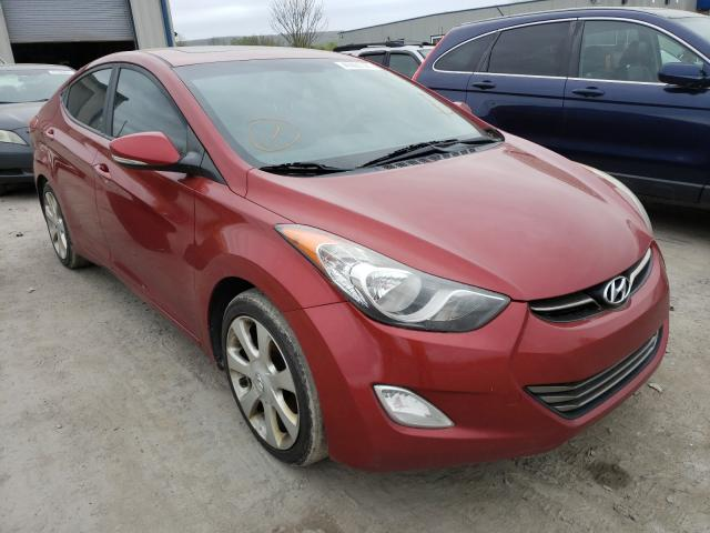 Salvage cars for sale from Copart Duryea, PA: 2012 Hyundai Elantra